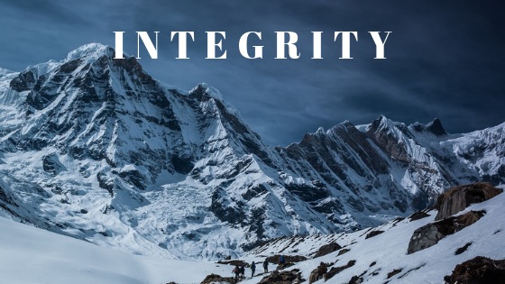 Integrity – The Mountain That Has No Top