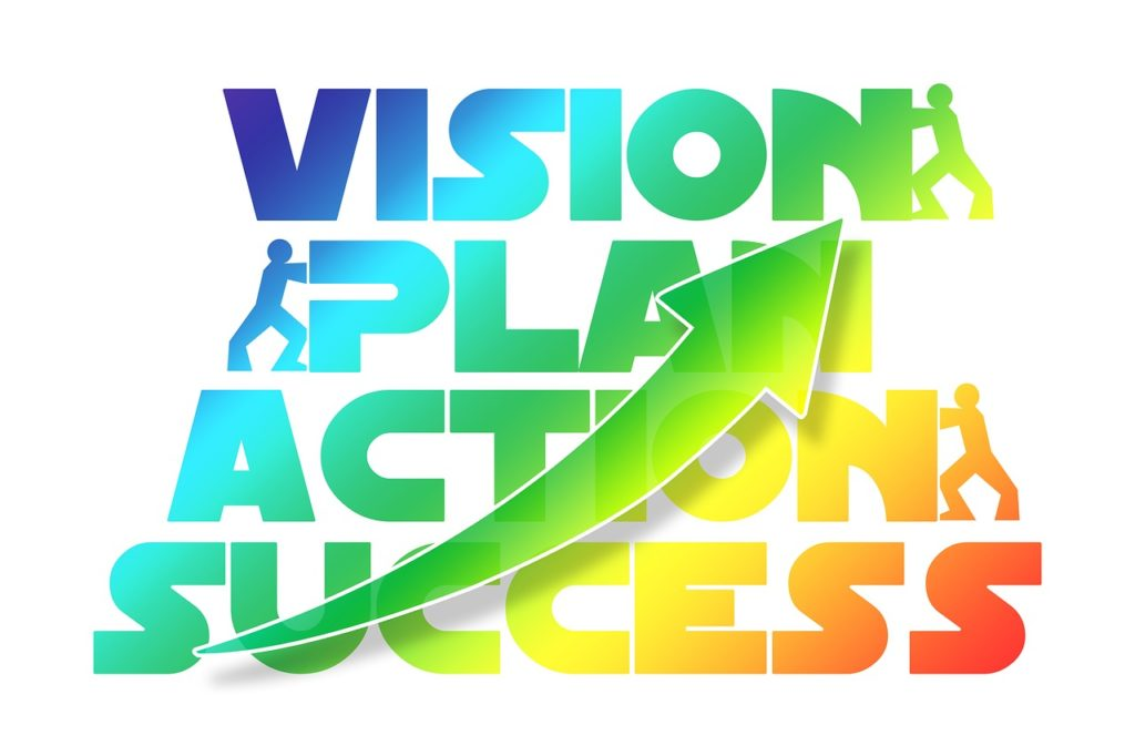 vision plan action success