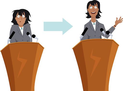 Banish public speaking nerves